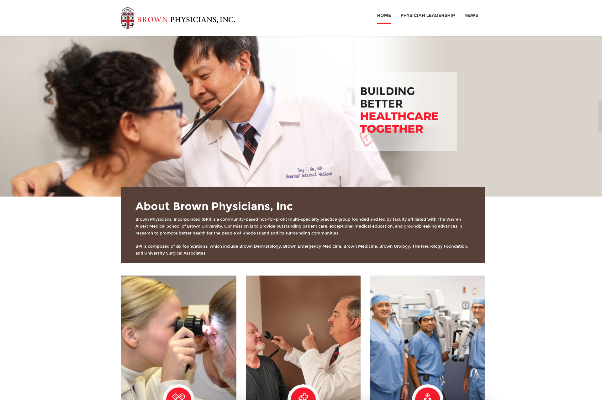 Brown Physicians. Inc.