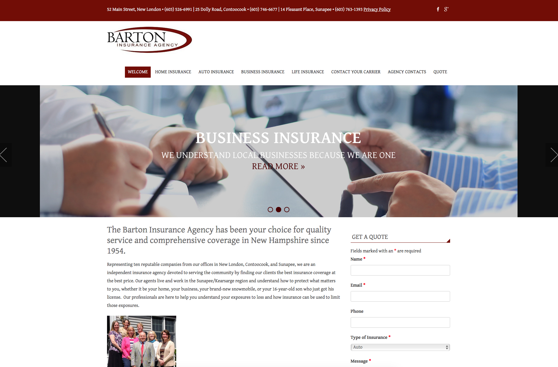 Barton Insurance Agency
