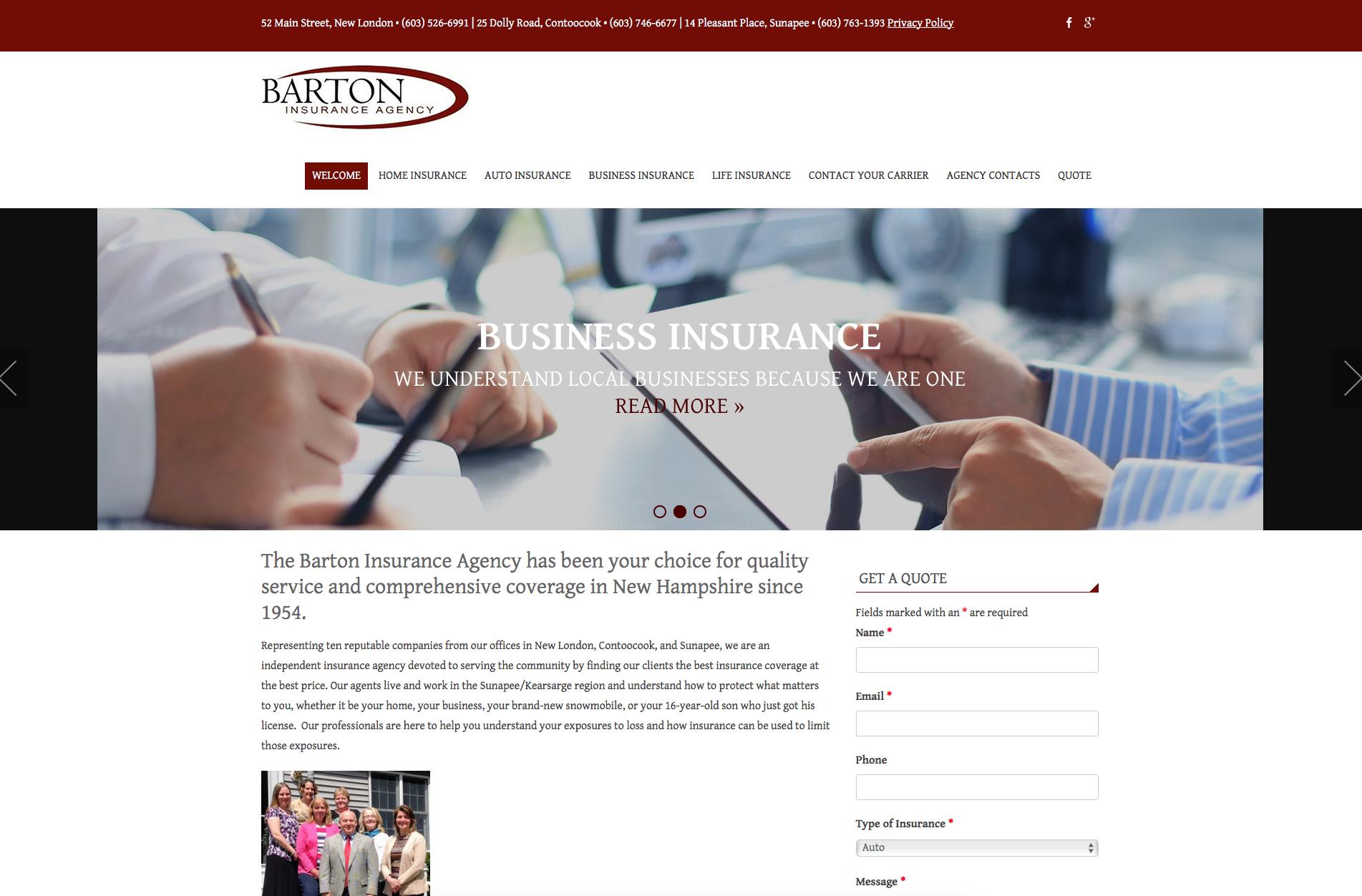 Barton Insurance Agency