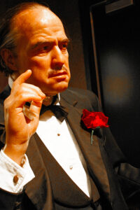 The Godfather movie still Marlon Brando