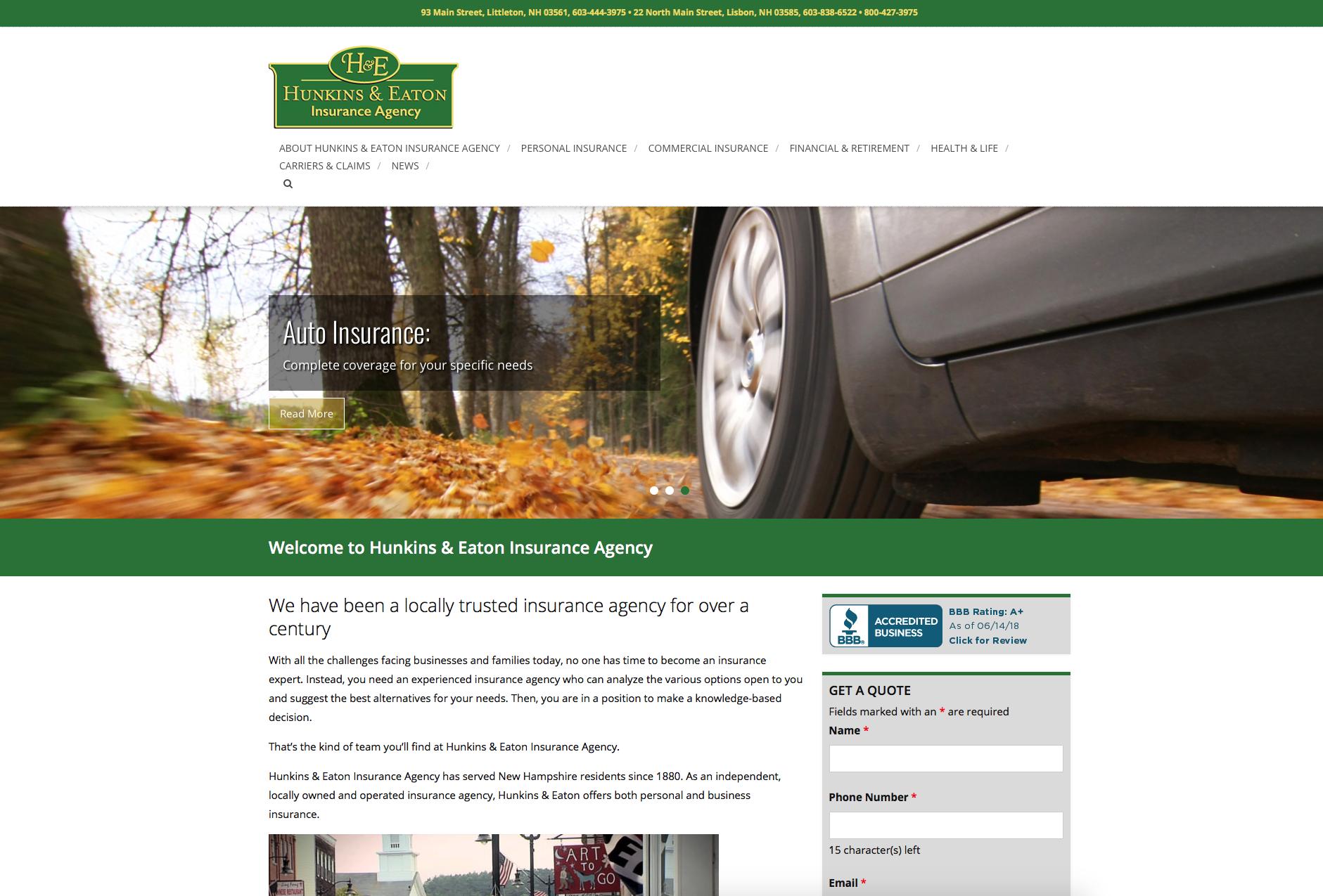 Hunkins & Eaton Insurance