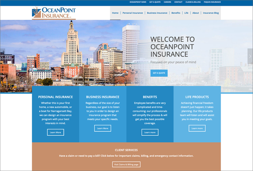 OceanPoint Website